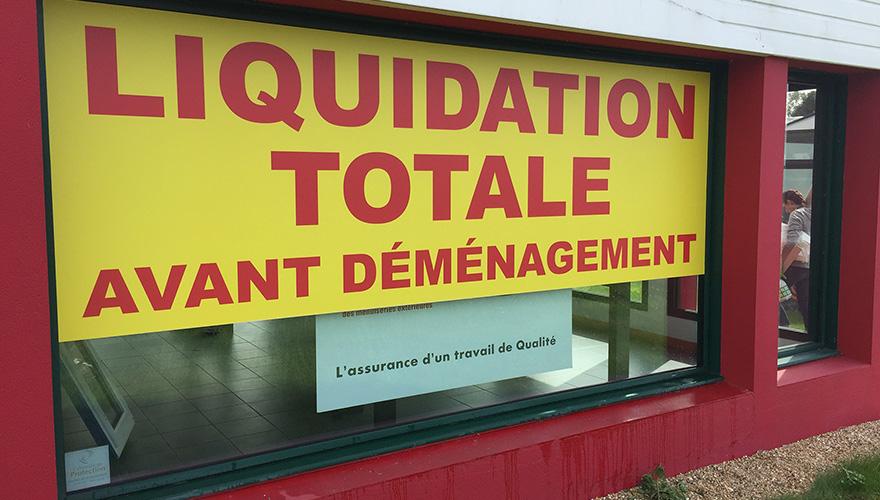 Décoration vitrine temporaire