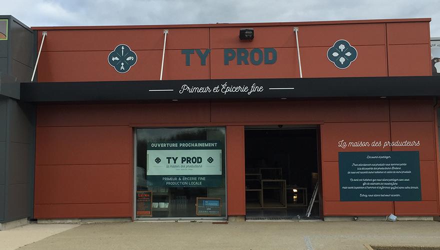 Enseigne Ty Prod